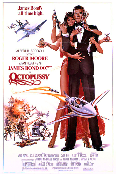007정주행 13 - 옥토퍼시(Octopussy, 1983)