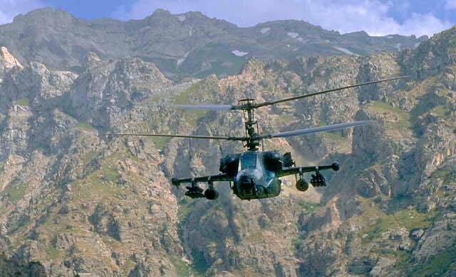체첸전 당시의 Ka-50