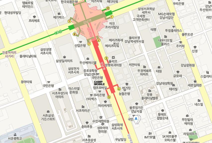 SPC계열의 나폴리 피자 전문점. 강남 SPC 스퀘어..