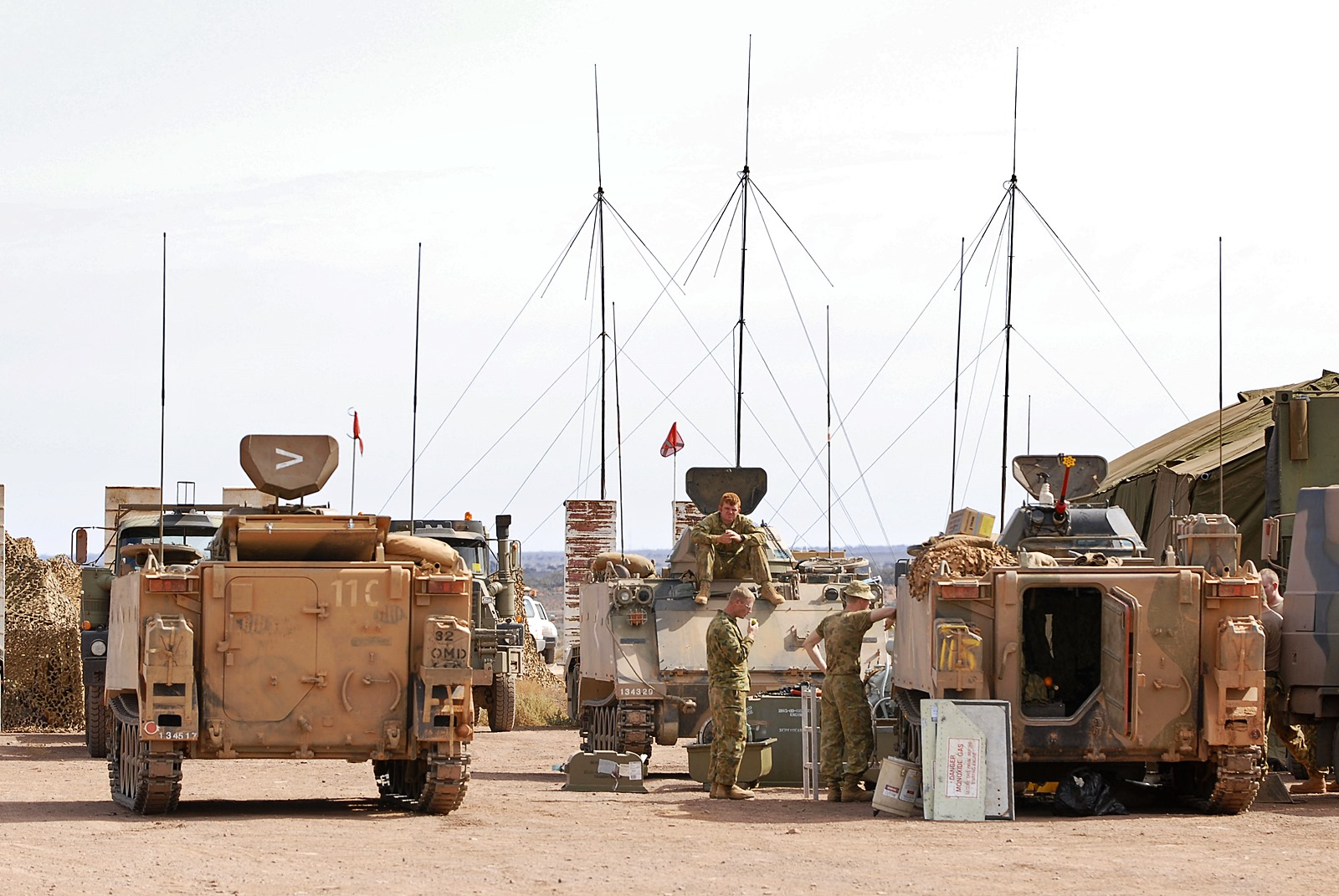 개량전 호주육군 M113A1 장갑차