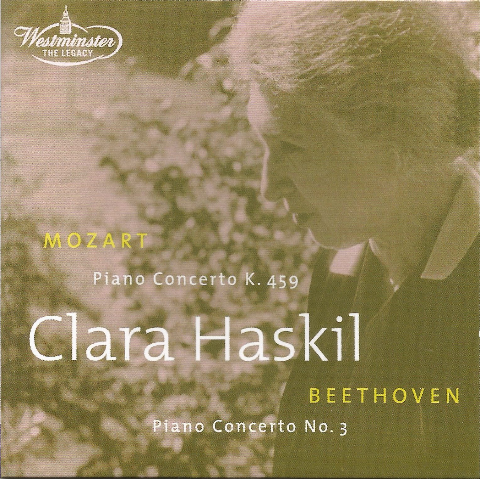 Clara Haskil at Westminster