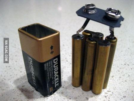 9볼트 배터리의 비밀