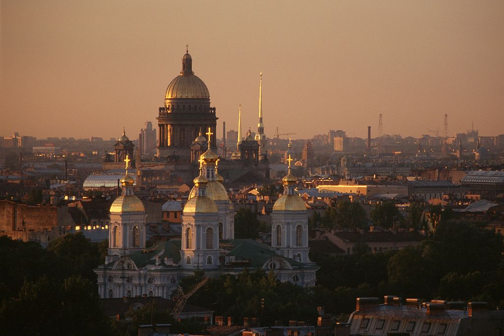 러시아 역사 이야기 33. 상트페테르부르크