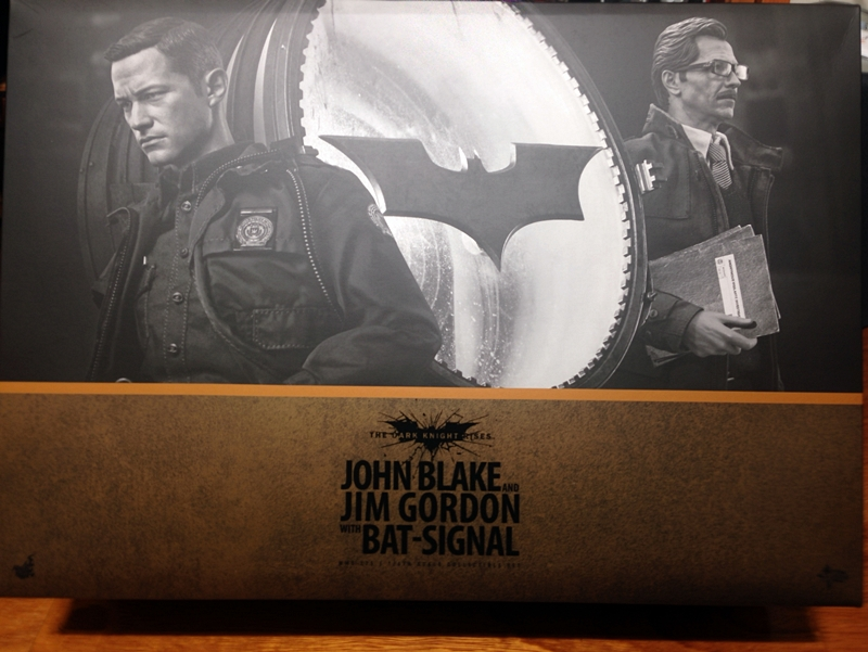 Hottoys John Blake & Jim Gordon With Bat-s..