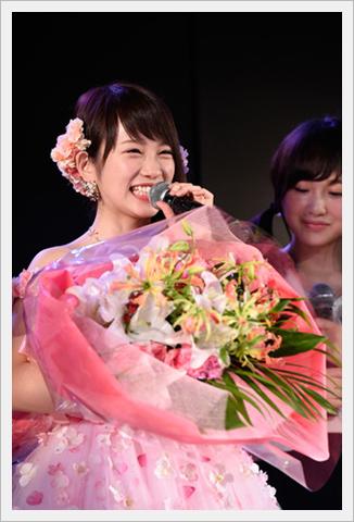 """카와에이 리나, AKB48를 졸업. """"다시 태어나도 AKB에!"""""""