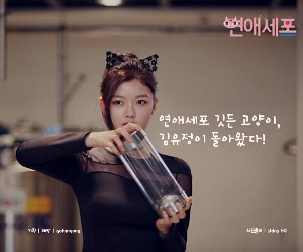 연애세포 깃든 고양이, 김유정이 돌아왔다!