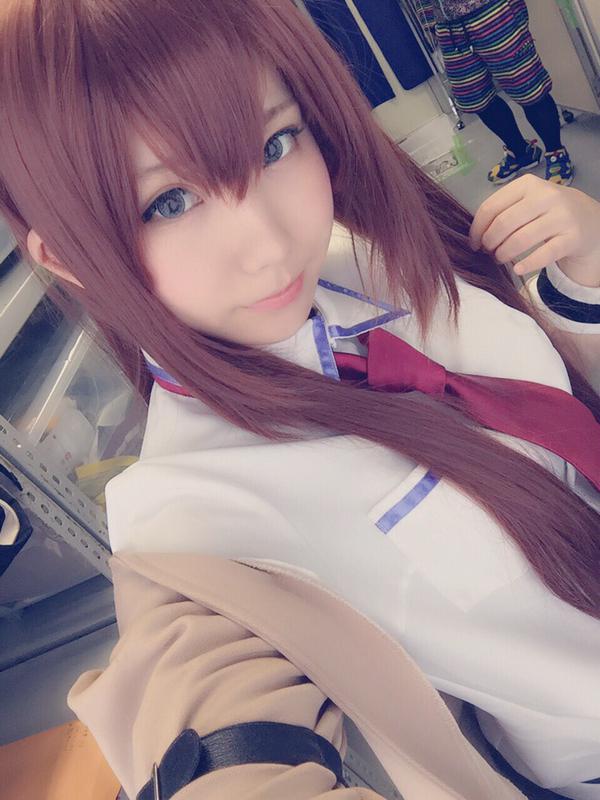 인기 코스프레이어 '에나코'씨가 도쿄 게임쇼 2015에서..