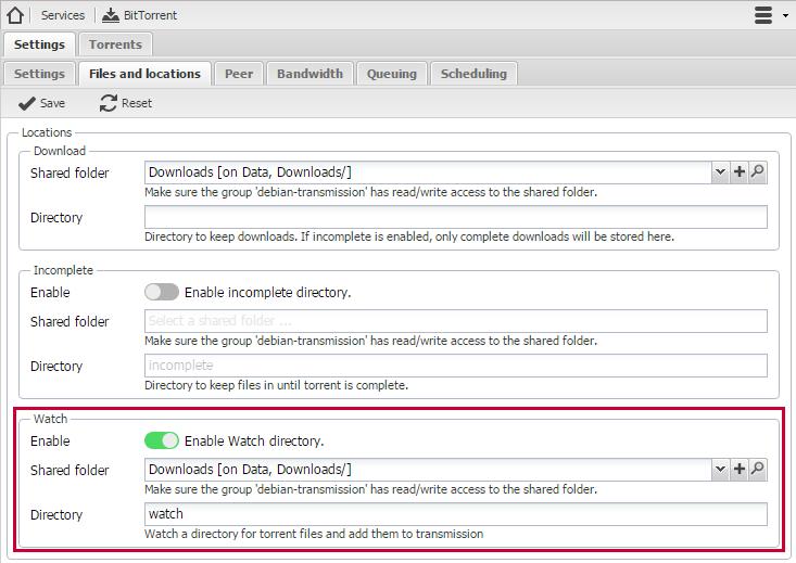 2. OMV의 트랜스미션에 RSS 연동 (과 삽질기)