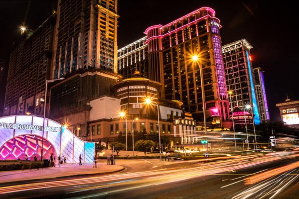 2014, Macau, China - Dancing Water (City ..
