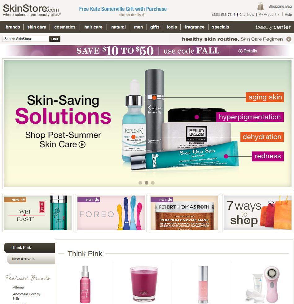 Skinstore.com 스킨스토어 에서 20% 할인 클라리..