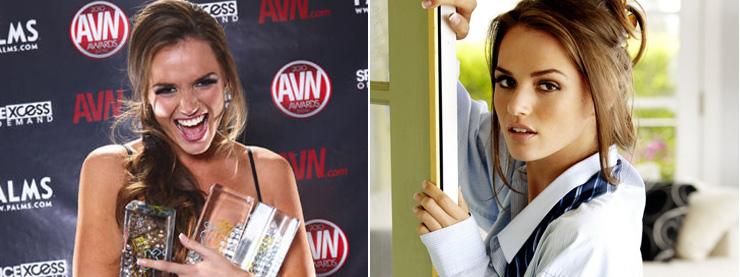 누가 AVN 어워즈에서 올해의 여배우상을 수상하는가?