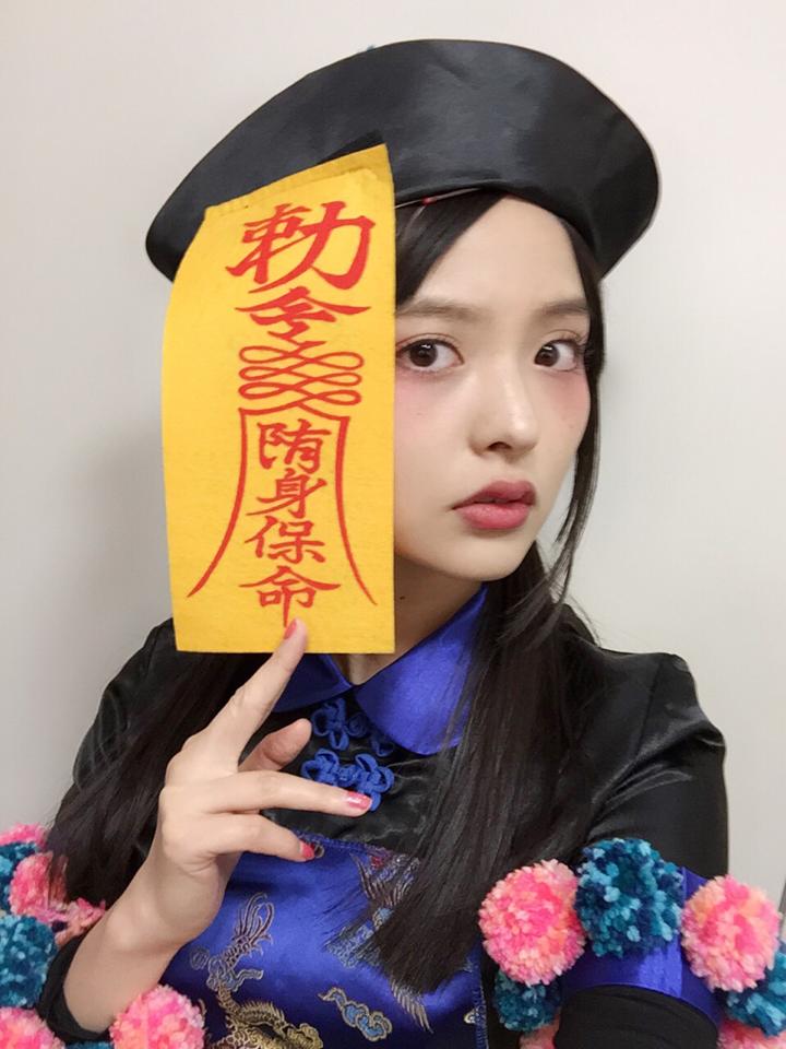 성우 우에사카 스미레, 할로윈 이벤트에서 강시 코..