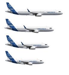 항공기 비교 - 에어버스사
