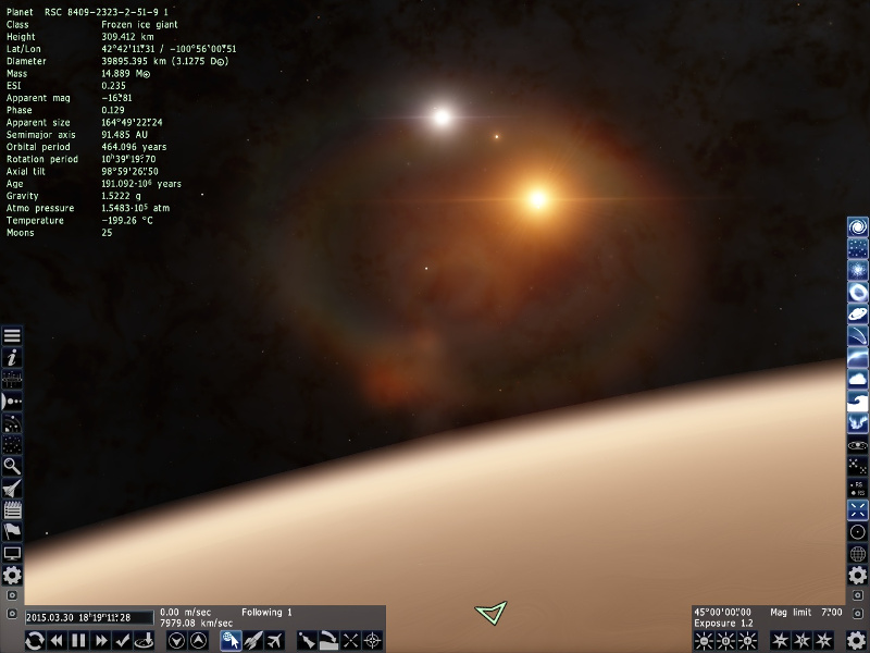 스페이스 엔진 - 놀라운 우주 시뮬레이터
