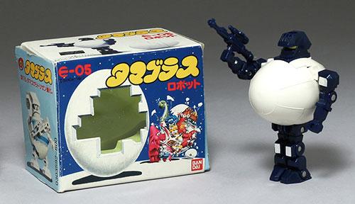 달걀형 변형 로봇?