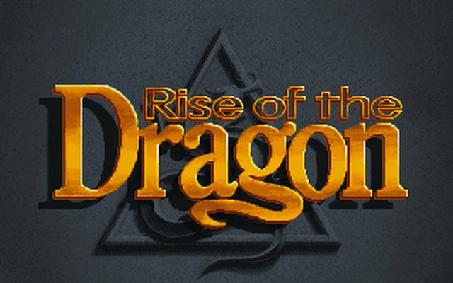 [DOS] 라이즈 오브 더 드래곤(Rise of The Dr..
