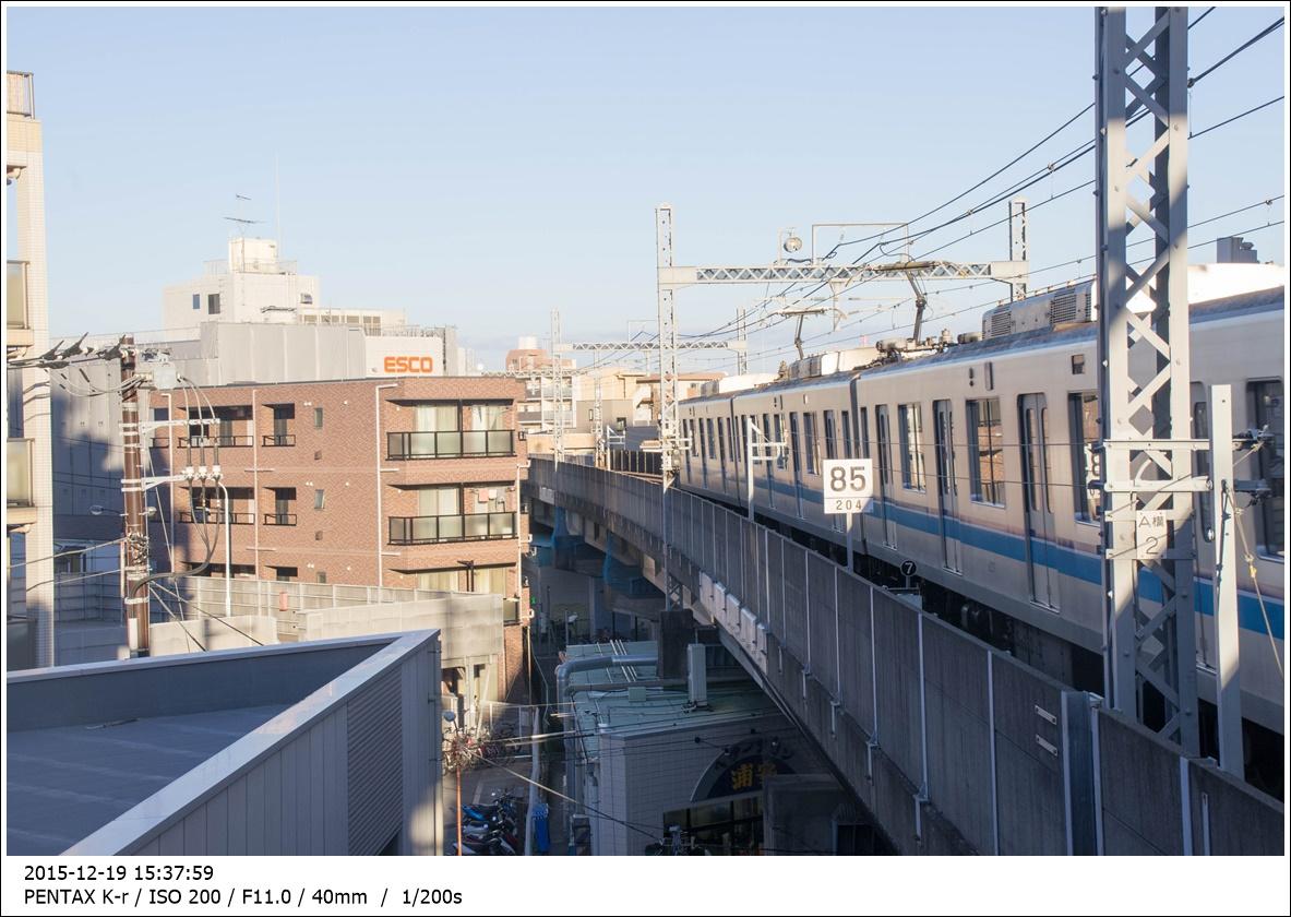 도쿄메트로 토자이선 카사이(葛西)역에서 찍은 ..