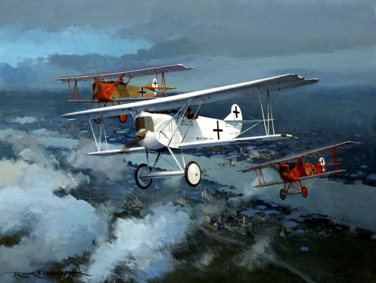 [고담의 1차대전 뱅기들] 포커 D.VII (Fokker ..