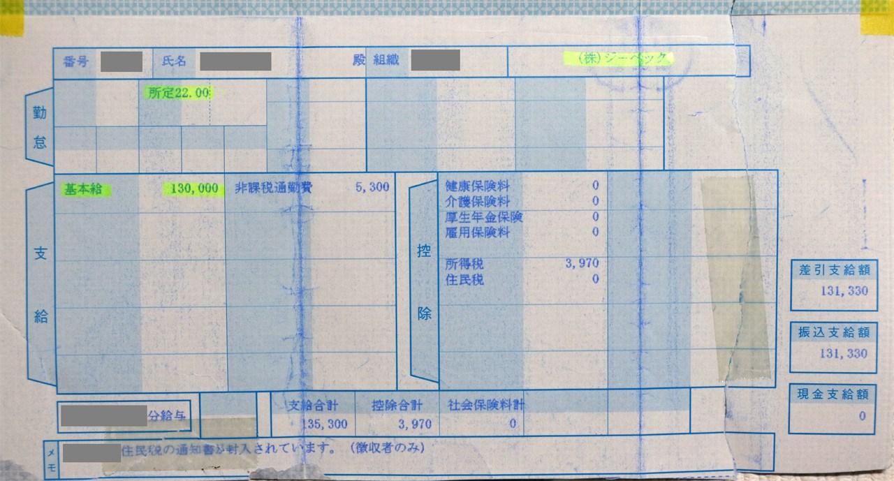 애니메이션 제작사 XEBEC의 직원 초임 급여 명세..