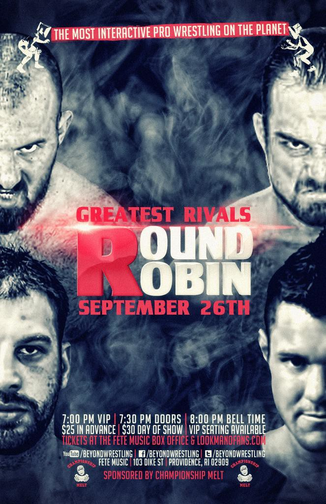 "Beyond Wrestling ""Greatest Rivals Round Ro.."
