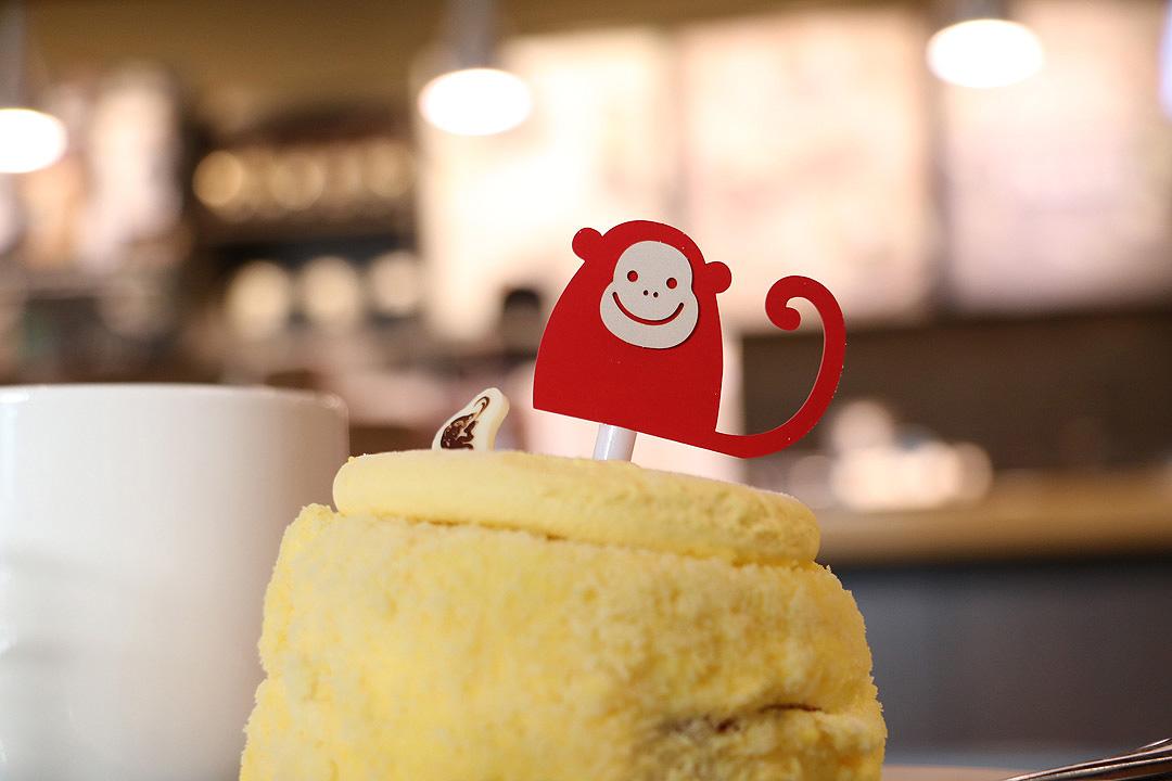 병신년 빨간원숭이 케익 스벅에 등장~!!