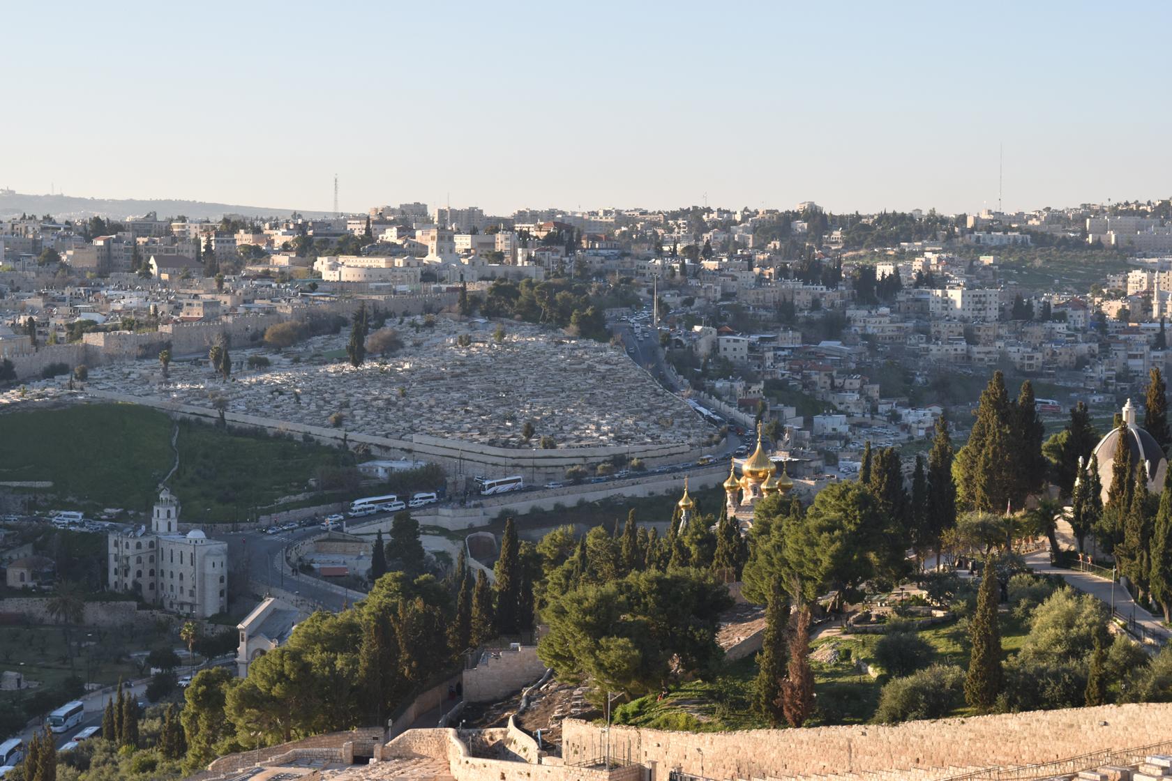 이스라엘 여행 - 예루살렘 올드시티에서 겟세마네까지