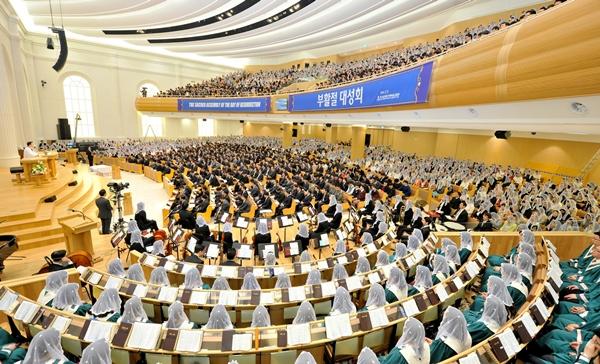 (중부일보)하나님의교회,'부활절 대성회'거행