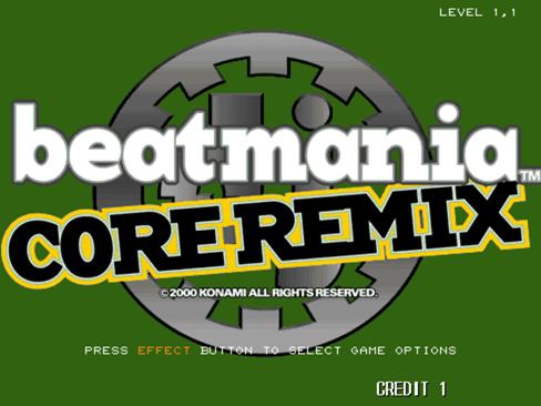 [5키 비트매니아 정보] beatmanai CORE REMIX