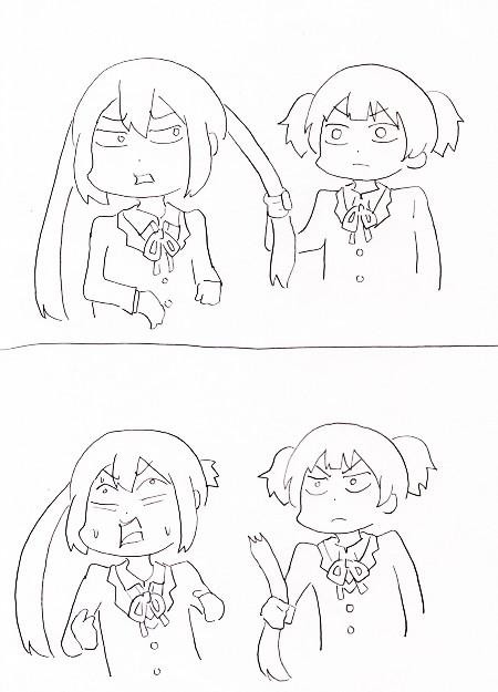 노트 그림) 쥰과 아즈사