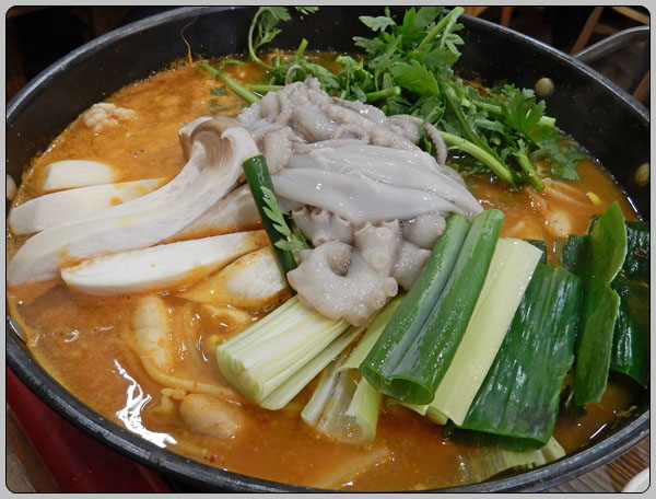 한국은 탕과 찌개와 국의 나라 – 동태 찌개