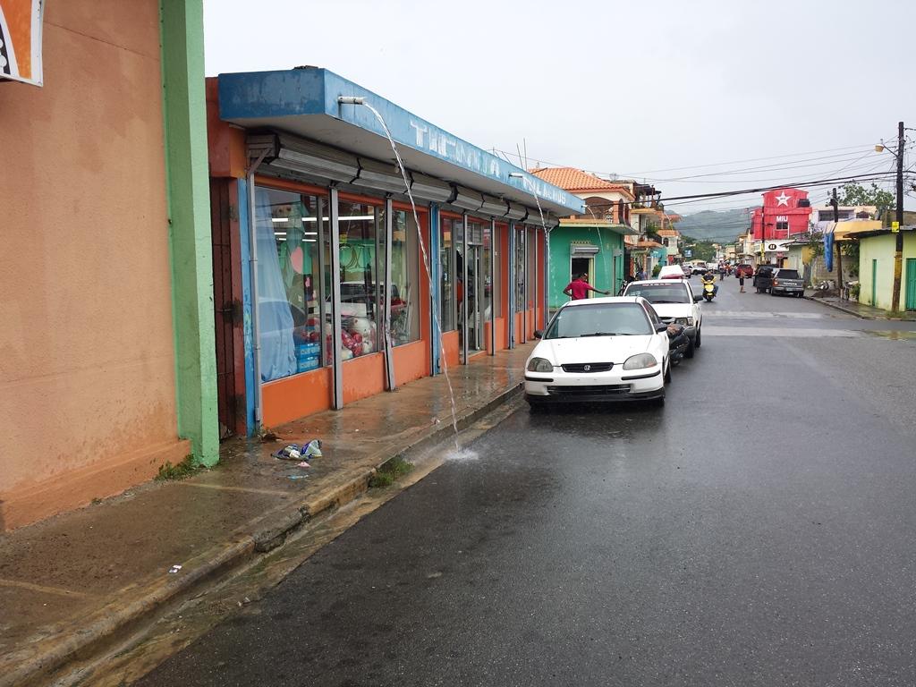 [도미니카공화국] 비 내리는 아또 마요르 시내