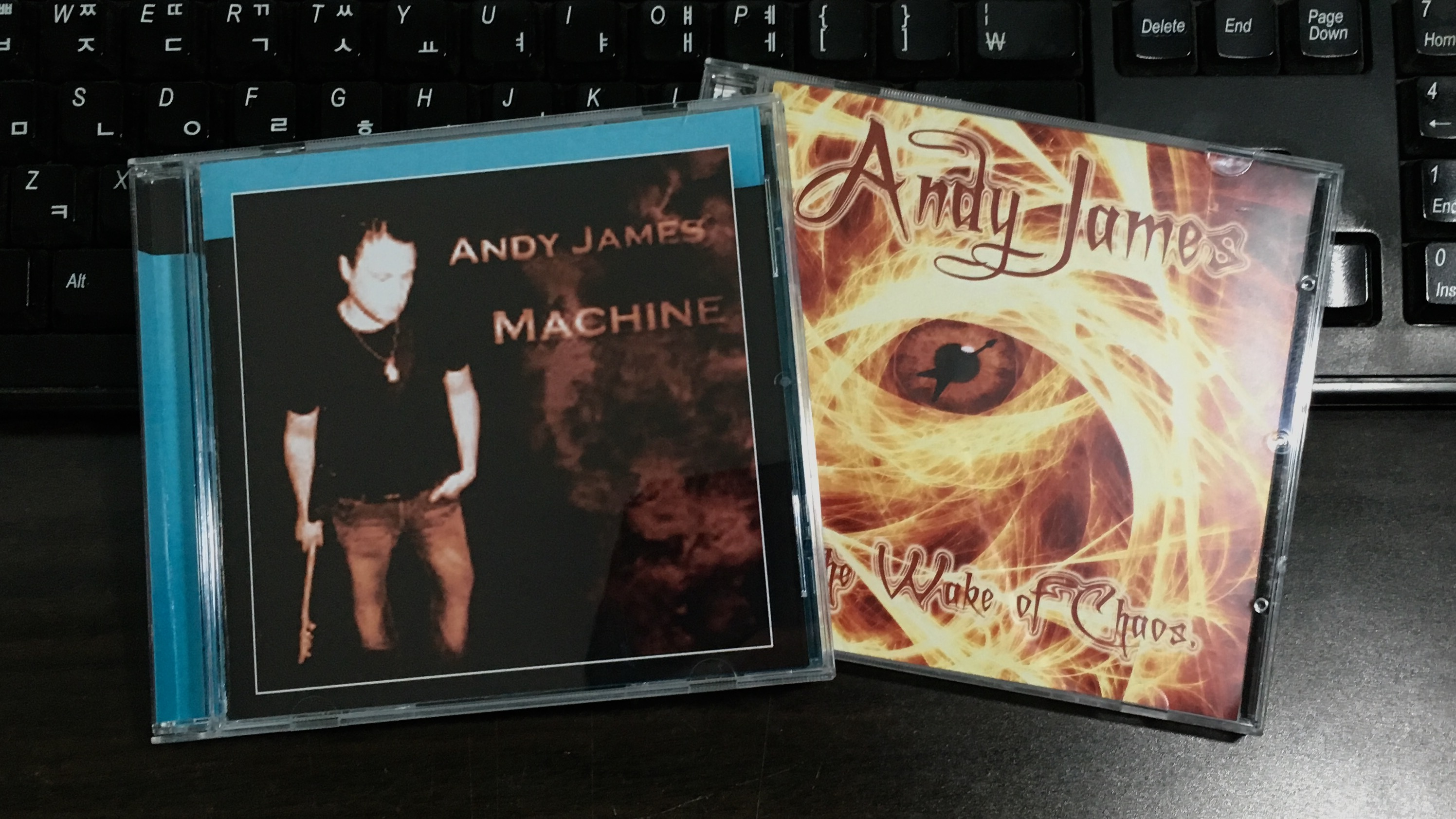 Machine, In The Wake Of Chaos - Andy J..