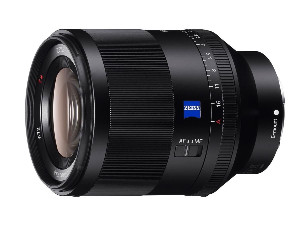소니, FE 50mm f1.4 ZA Planar 발표
