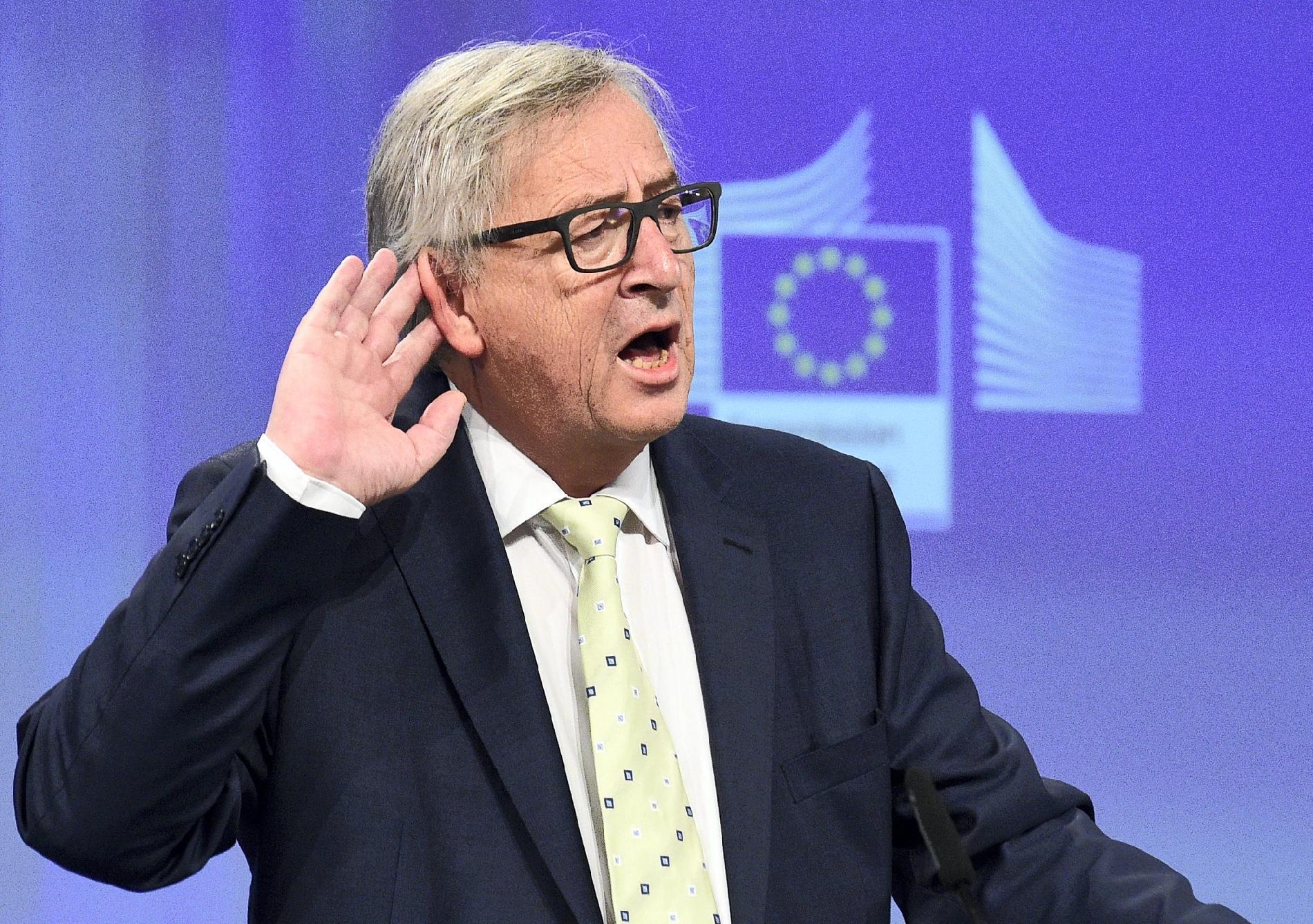 단신 : 장 클로드 융커와 EU