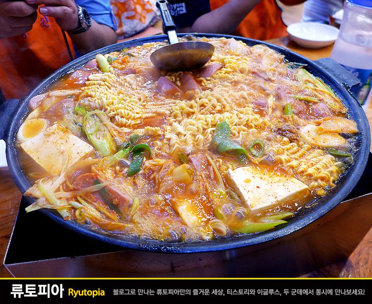 2016.7.27. 경원식당(의정부) / 건더기 한가득 햄..