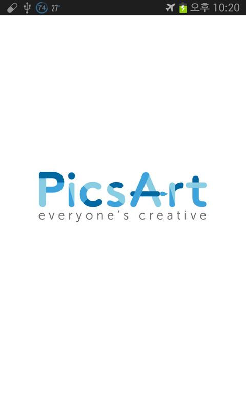 안드로이드 포토 편집 앱, `PicsArt`