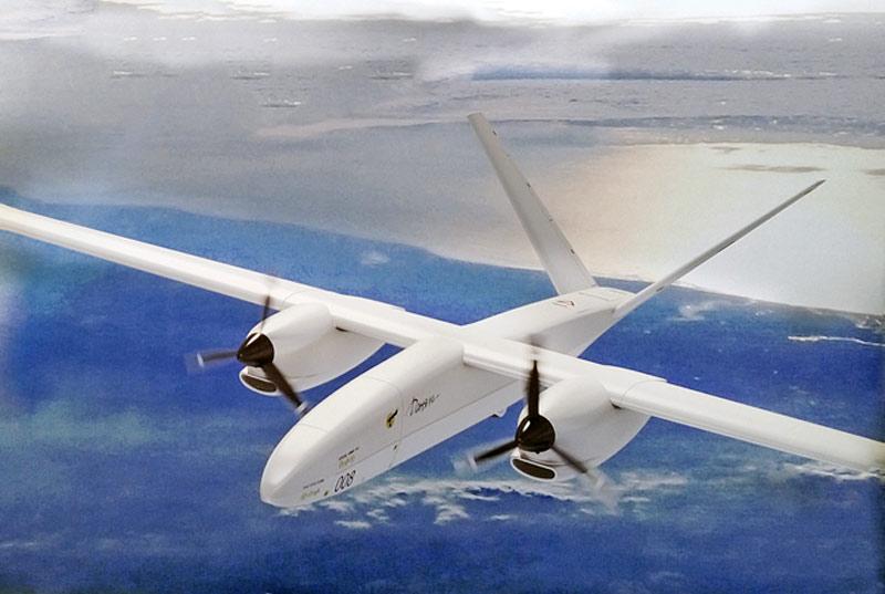 북극을 감시할 대형 UAV가 처녀 비행을 했다
