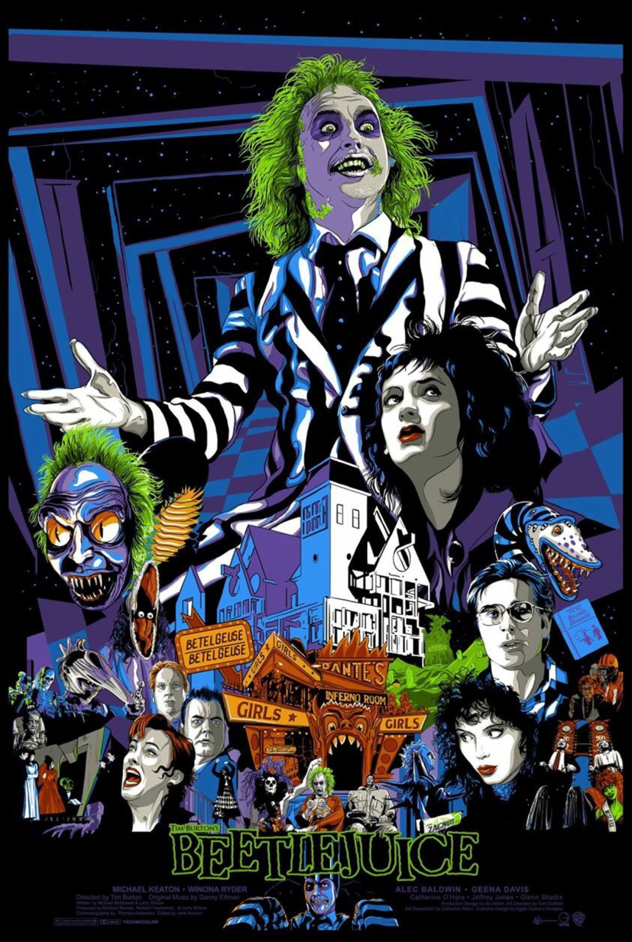 Beetlejuice: Lovely weirdos
