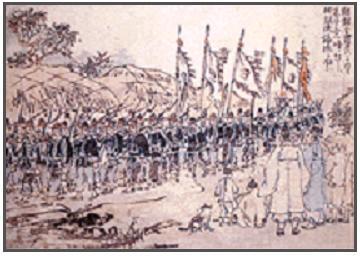 조선 말 군대에 대한 흥미로운 기록