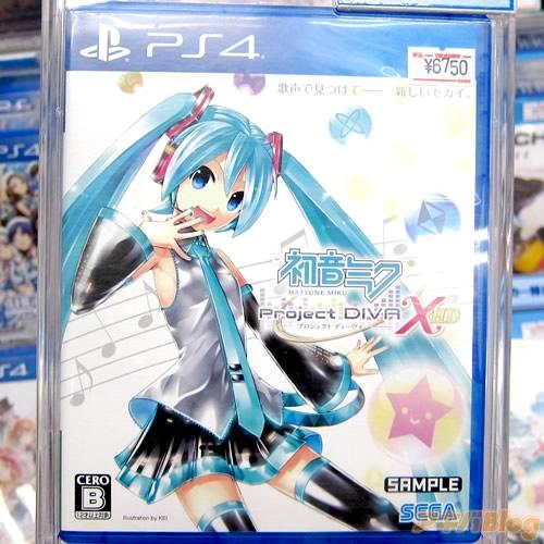 PS4용 게임 '하츠네 미쿠 - 프로젝트 디바 - X HD'가..