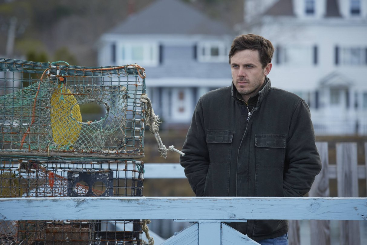 """""""Manchester By The Sea"""" 라는 작품의 스틸컷.."""