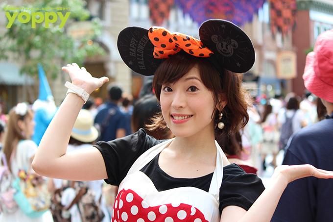 성우 나카무라 에리코씨의 사진, 도쿄 디즈니랜..