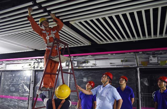 중국의 대륙적인 지하철 투자
