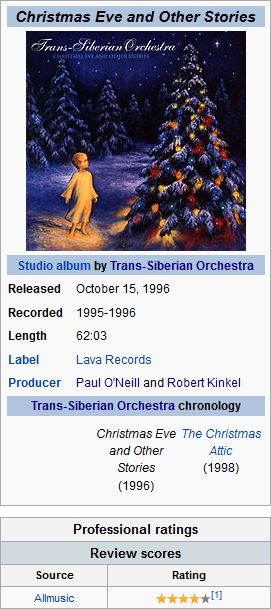 TRANS SIBERIAN ORCHESTRA - 09. GOOD KING ..