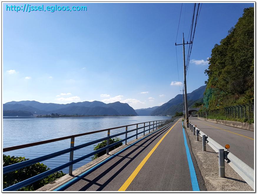 호반의 도시를 만끽하는 춘천 의암호 자전거길