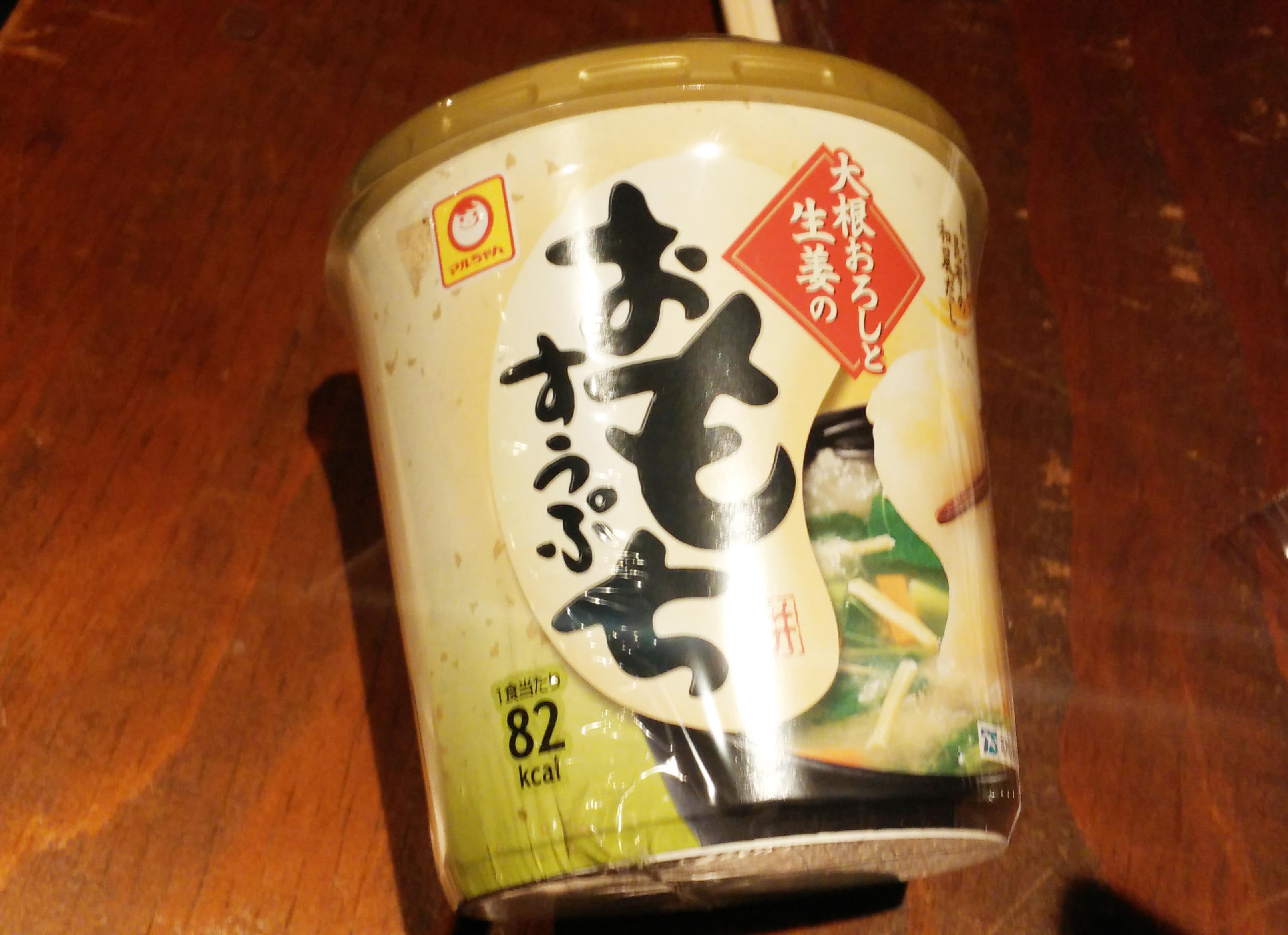 [컵떡/일본] 마루쨩 오모찌 스프(おもちすうぷ)