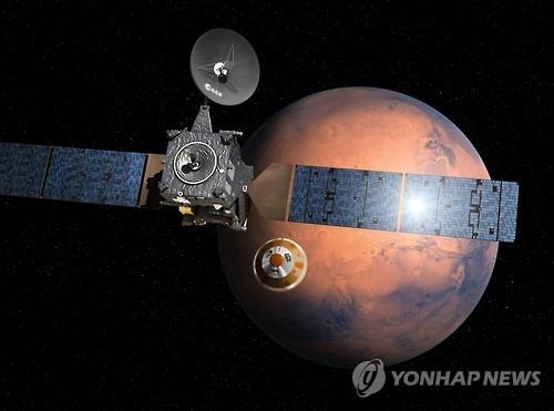 러시아, 유럽 화성탐사선 `엑소마스` 착륙선 분..