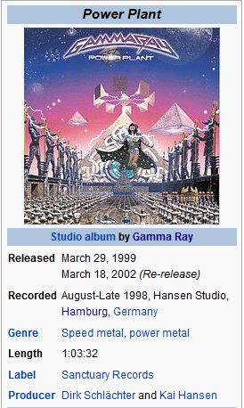 GAMMA RAY - 01. ANYWHERE IN THE GALAXY/..