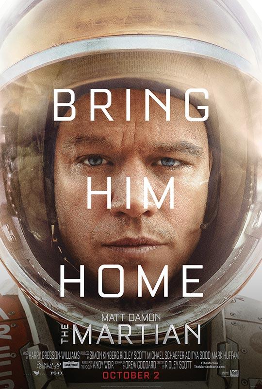 마션, The Martian, 2015