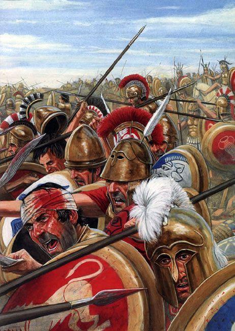 로마 팔랑크스는 과연 존재했는가?